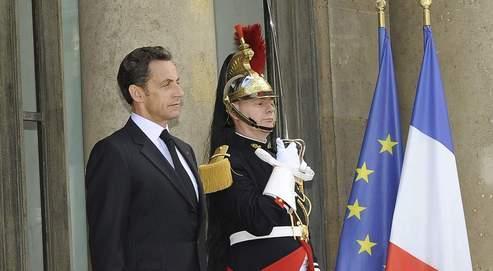 Nicolas Sarkozy à l'Élysée, le 22 juin dernier.