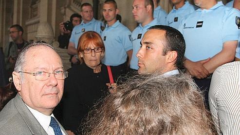 Richard Prasquier, président du Crif, vendredi soir avant le verdict de la cour d'assises de Paris.