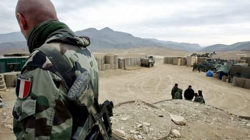 Un soldat français du 3e Rima en patrouille, en décembre dernier, en Afghanistan.