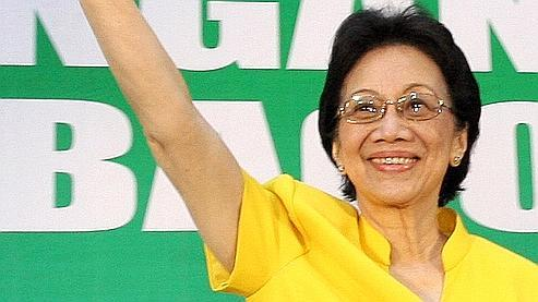 La famille de l'ancienne présidente philippine Corazon Aquino (ici en 2008) a décidé que les funérailles de la politicienne feraient l'objet d'une cérémonie privée la semaine prochaine.