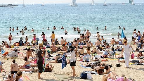 Neuf plages de Marseille ont été interdites dimanche à la baignade, à la suite de violents orages qui ont «entraîné une pollution ponctuelle».