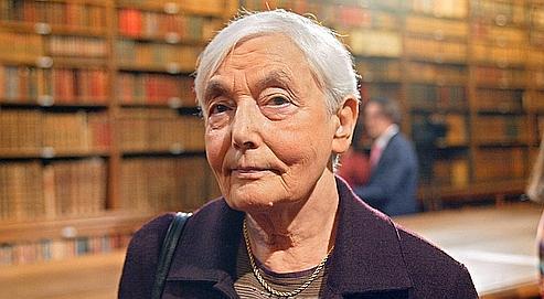 Liliane Lurçat, directrice de recherche honoraire au CNRS, en octobre 2002.