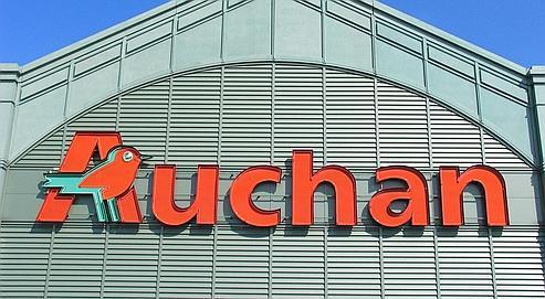 Depuis le début de l'année, les ventes des 123 Auchan français (ici, celui de Marne-la-Vallée) n'ont reculé que de 1,9%.