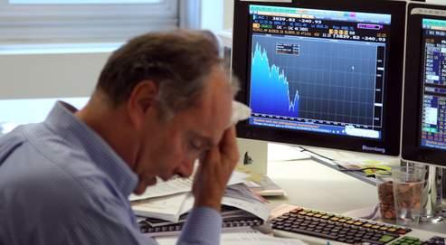 les traders font la gueule
