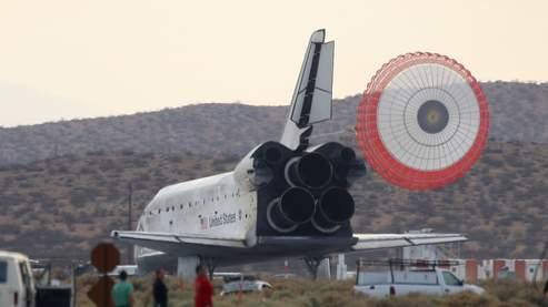 Atterrissage sans encombre pour Discovery