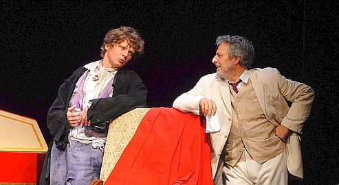 Nicolas Vaude, éblouissant Neveu de Rameau