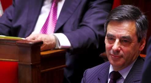 François Fillon, ici au banc des ministres, «est le membre du gouvernement qui a le plus siégé à l'Assemblée», rappelle son président Bernard Accoyer.