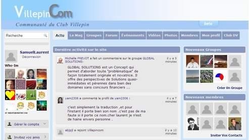 Selon Brigitte Girardin, cette plateforme a été conçue «pour moins de 10.000 euros site officiel compris».