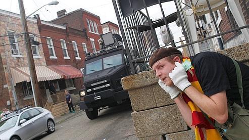 Ce nouveau «canon à son», testé dans les rues de Pittsburgh.
