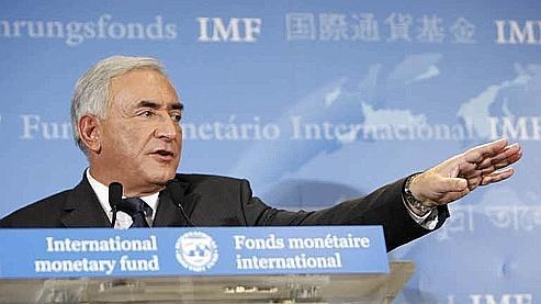 Dominique Strauss-Kahn, président du FMI (Crédit photo : Bouchon/Le Figaro)
