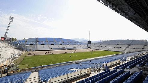 Stade Vélodrome de Marseille.