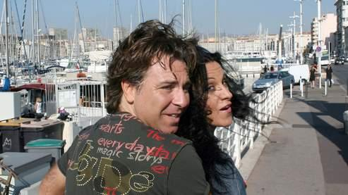 Roberto Alagna et Angela Gheorghiu à Marseille, en août 2007.
