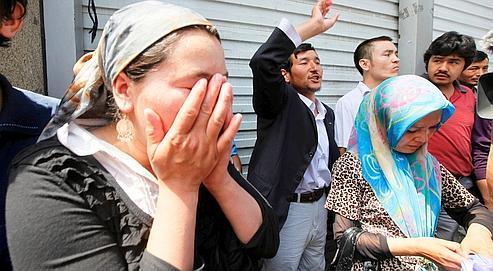Les Ouïgours sont la cible des pires préjugés de la part des Hans. Crédits photo : AP