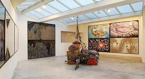 La galerie Georges-Philippe et Nathalie Vallois