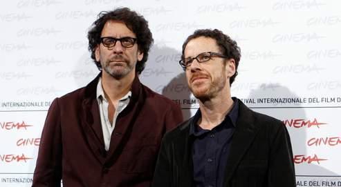 Joel Coen et Ethan, son frère (à droite), hier au Festival de Rome.