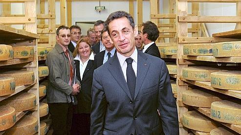 Sarkozy annonce 1,65 milliard d'euros pour l'agriculture