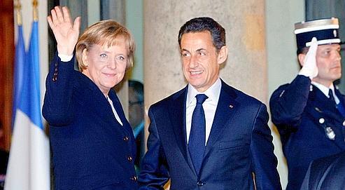 Après avoir prêté serment devant le Bundestag, mercredi, Angela Merkel est allée dîner avec le président de la République.