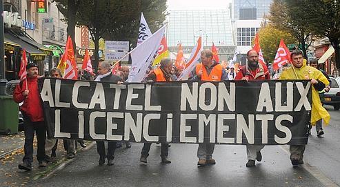Mobilisation sociale chez Alcatel