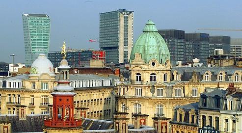 Lille est une porte vers la Belgique et l'Europe du Nord. Aubert/Le Figaro