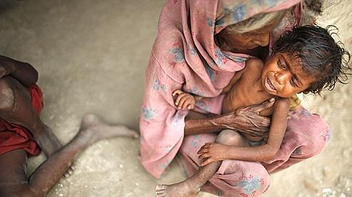 L'Inde, malgré sa révolution verte, compte 30 millions d'affamés en plus par rapport à 2004.