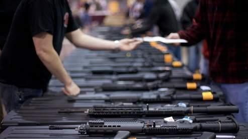 Une foire aux armes à Richmond, en Virginie.
