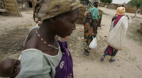 Une femme au Niger, en 2005