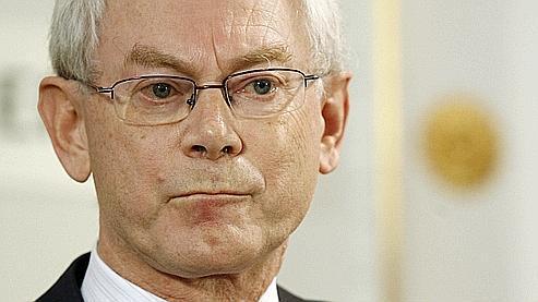 Le premier ministre belg e, Herman Van Rompuy, a été nommé jeudi président du Conseil européen par les Vingt-Sept.