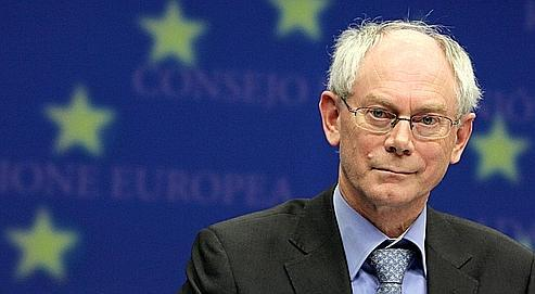 Herman Van Rompuy, hier à la Commission européenne à Bruxelles.