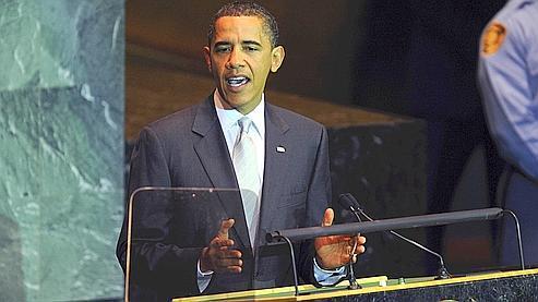 Barack Obama lors de la préparation du sommet de Copenhague sur le climat, en septembre.