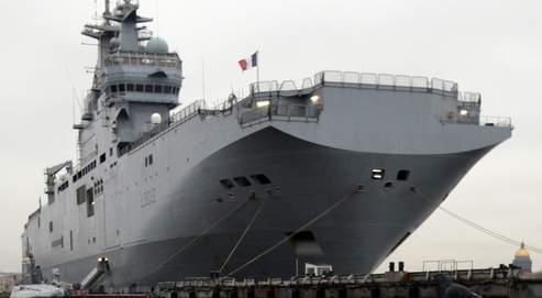 Le porte-hélicoptères Mistral est l'un des fleurons de la marine nationale, le plus gros navire de guerre français après le Charles-de-Gaulle.