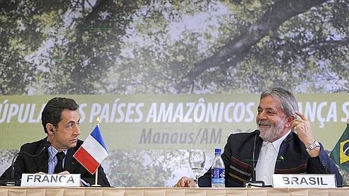 Sarkozy et Lula veulent croire au succès de Copenhague