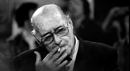 Roberto Rossellini , en 1977.