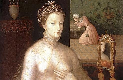 Diane de Poitiers par François Clouet. Décédée en 1566 à l'âge de 66 ans, la maîtresse du roi de France HenriII s'est probablement empoisonnée avec l'or qu'elle prenait pour entretenir sa beauté. Crédit photos : Rue des Archives