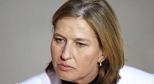Tzipi Livni, dirigeante du parti d'opposition israélien, Kadima.