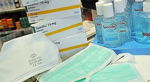 La France s'inquiète de son surplus de Tamiflu et de masques