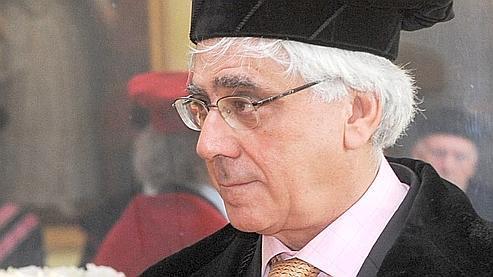 Sari Nusseibeh en mai 2009, lors d'une cérémonie à l'université de Louvain.