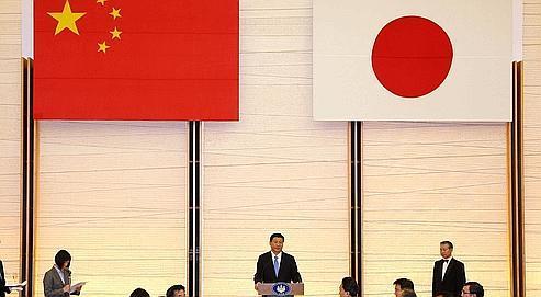 Le vice-président chinois, Xi Jinping, à Tokyo le 14 décembre dernier.