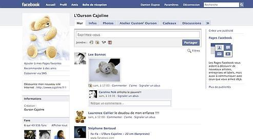 Cajoline fait partie des pionniers de la publicité sur Facebook.