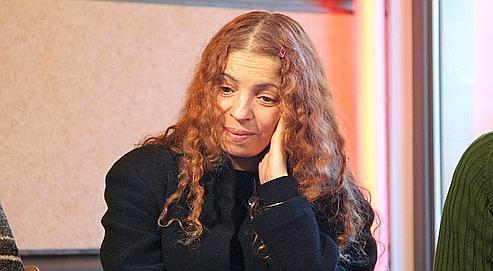 Rayhana, comédienne et metteur en scène réfugiée en France après avoir vécu sous la menace des islamistes en Algérie.