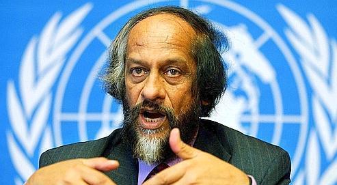 Le quatrième rapport du Giec a valu à Rajendra Kumar Pachauri, le président de l'organisation, de recevoir le prix Nobel de la paix.