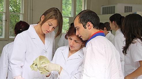262 Français sont actuellement étudiants à l'université de Cluj, en Roumanie.