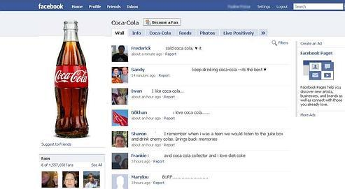 Sur Facebook, les marques servent à se créer une identité