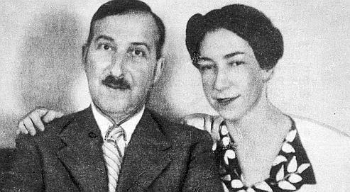 Stefan Zweig et son épouse, Lotte Altmann, à Rio en 1940.
