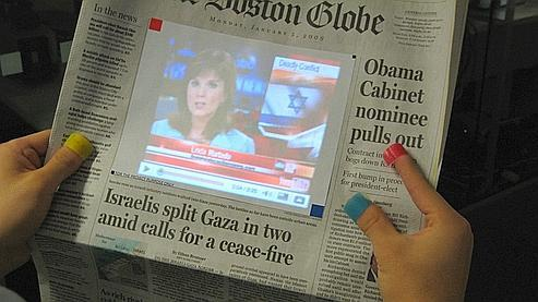 Sixth Sense affranchit le Web de l'écran