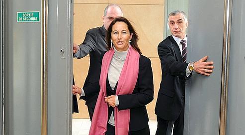 Ségolène Royal lors de sa présentation des vœux au conseil régional de Poitou-Charentes le 14 janvier dernier.