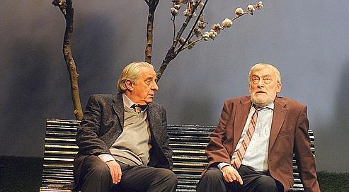 Michel Aumont et Michel Duchaussoy