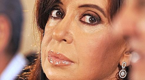 Cristina Fernandez de Kirchner , la présidente argentine.