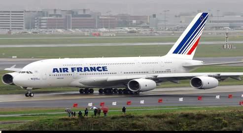 Les pilotes d'Air France sont en grèce cette semaine