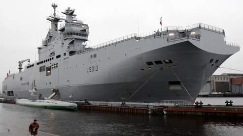 La France pourrait construire deux Mistral pour la Russie