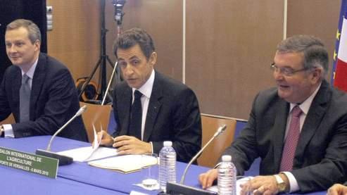 D fendre l 39 agriculture au m me titre que la finance for Sarkozy salon agriculture